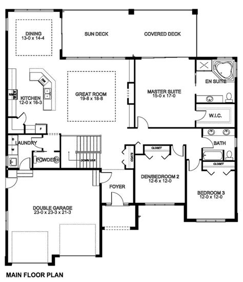 one house plans with basement fantastic one level house plans with basement 1661 square