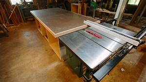 Outfeed Assembly Table Build - YouTube