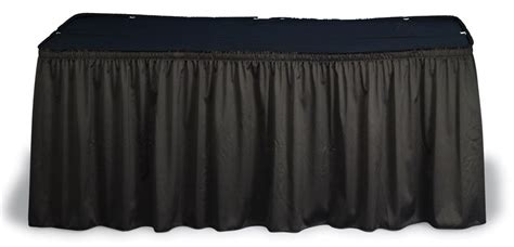 trade show table skirts table skirt sleek look for hotel restaurant trade show