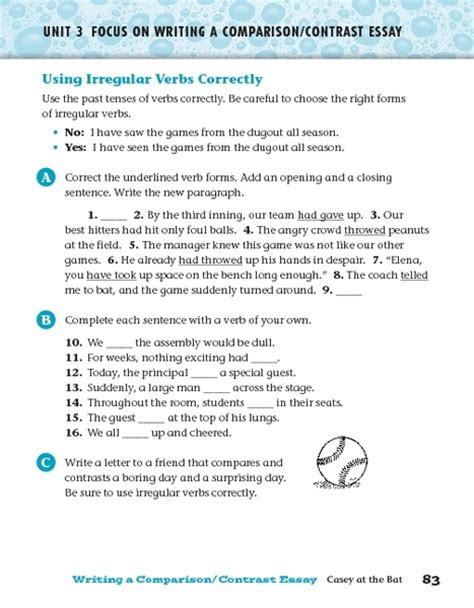 using verbs correctly worksheet free worksheets library