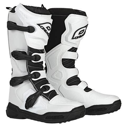 o neal motocross boots o neal 16 element white dirt atv mx motocross offroad