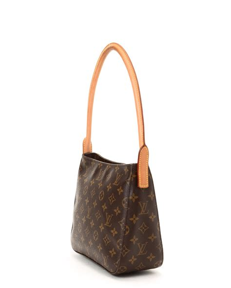 lyst louis vuitton monogram shoulder bag vintage  brown