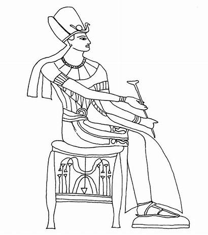 Egyptian Coloring Pages Glass Egypt Painting Patterns