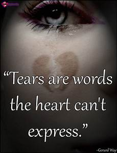 Tears Feelings Quotes. QuotesGram