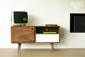 Meuble Tv Vintage : meuble tv vintage ~ Teatrodelosmanantiales.com Idées de Décoration