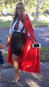 Superwoman diy superhero Halloween supergirl costume | DIY ...