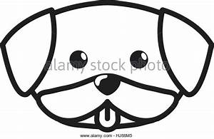 Cute Dog Face Drawing at GetDrawings.com | Free for ...