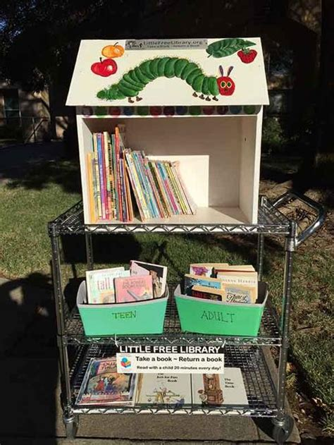 cute   library design ideas recycling  gifts