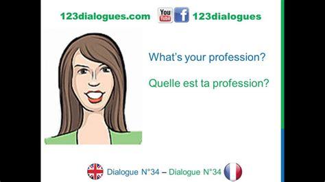 English French Anglais Français