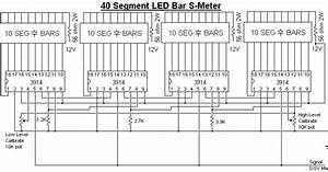 Wiring Schematic Diagram Guide  40 Segment Led S Meter