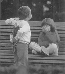 cute kids flowers romance valentines day love ...