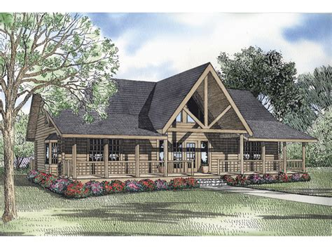 vaulted ceiling house plans canoe point vacation log home plan 073d 0041 house plans and more