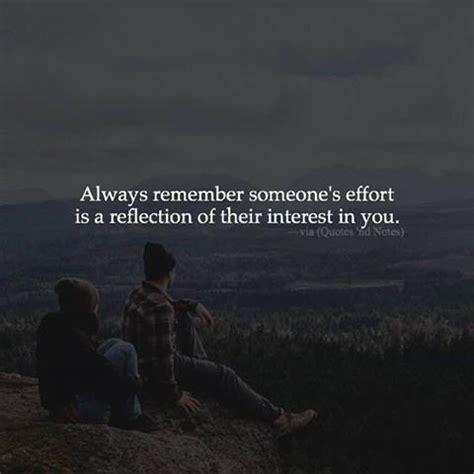 remember someones effort   reflection
