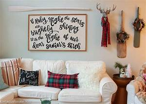A Lake Cottage Christmas: Our Christmas Living & Dining