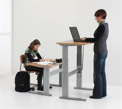 what is desk height 501 27 conset height adjustable desk low sit to stand
