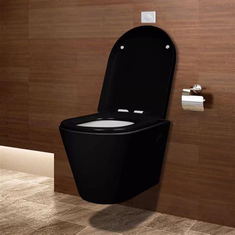 wand wc maße wand h 228 nge wc toilette klo wandh 228 ngend schwarz g 252 nstig kaufen vidaxl de