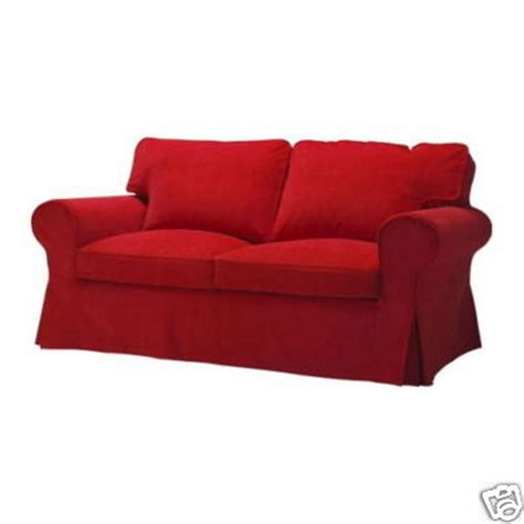 corduroy sofa and loveseat ikea ektorp 2 seat loveseat sofa slipcover cover leaby red