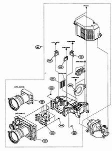 Sony Projector Power Supply Block Parts