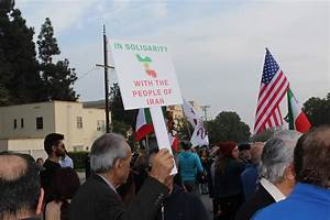 Photo Essay: L.A.'s Iranian ex-pats march in support of ...