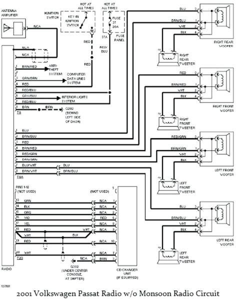 2001 vw jetta radio wiring diagram free wiring diagram
