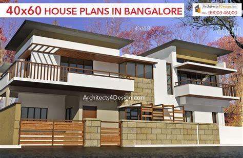 G+2 Home Design : 40x60 House Plans In Bangalore |40x60 Duplex House Plans