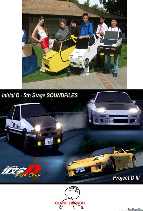 Initial D Memes - initial d cosplay by recyclebin meme center