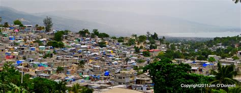 port au prince haiti haiti photographs skyline port au prince july 2011