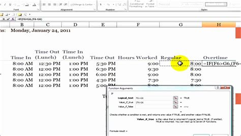 overtime calculator excel template exceltemplates