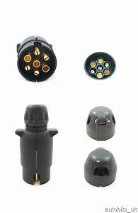 7 Pin Plug  U0026 Socket Trailer Car Caravan Wiring Lights Tow