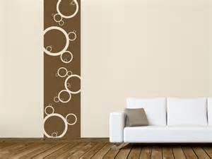wandgestaltung kreise wandgestaltung wohnzimmer braun turkis wandtattoo kreis harmonische kreise als wandtattoos