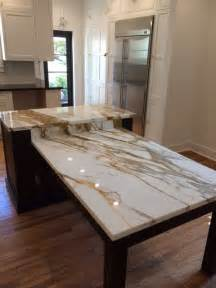 Tile Flooring Ideas For Dining Room by Brown Quartz Kitchen Tops Amp Calacatta Gold Marble Island