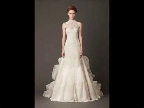 vestidos de novia vera wang modelos  blancos youtube