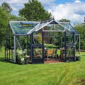 Kit Serre De Jardin : serre orangery aluminium et verre tremp 15 2m juliana ~ Premium-room.com Idées de Décoration