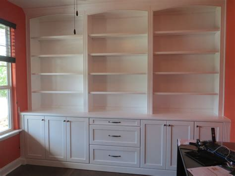 bookcases that look built in built in home office bookcases photos custom home office