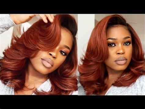 diy fiery copper hair video black hair information