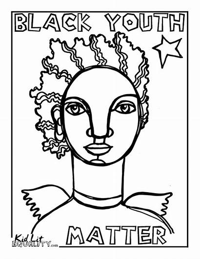 Coloring Pages Matter Michael Justice Social Lgbt