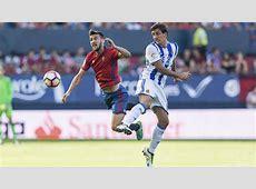 Osasuna vs Real Sociedad La Real bate al coraje de Osasuna