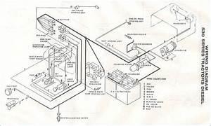 Massey Ferguson 135 Diesel Starter Wire Diagram