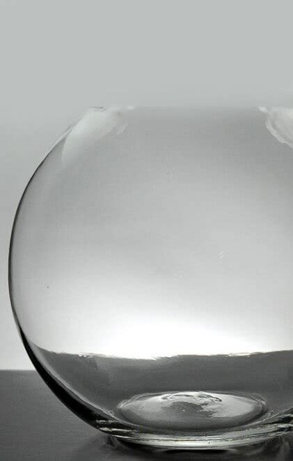 clear glass bubble ball  vases  set