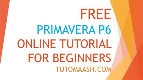 it courses free with certificate free oracle primavera p6 beginners kit bk