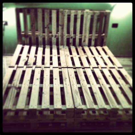 king size pallet bed pallet bed frame diy king size bed