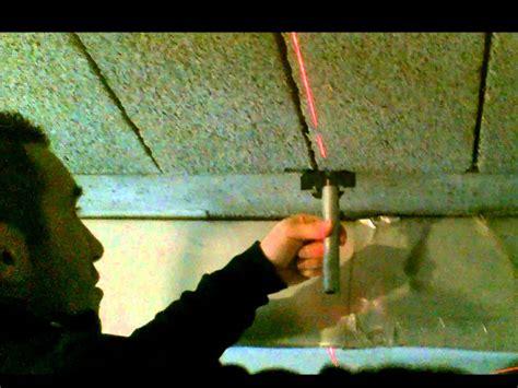 pose d un plafond placo dans un garage