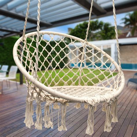 diy macrame hammock chair diy hanging macrame chair Diy Macrame Hammock Chair