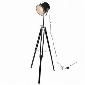 Lampe Industrie Look : industrie stehlampe triangle in schwarz 21 cm ~ Markanthonyermac.com Haus und Dekorationen