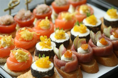 canapes finger food canapes
