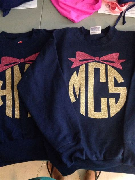 youth sweatshirt monogrammed crew neck pullover girls  youninkboutique  etsy  love