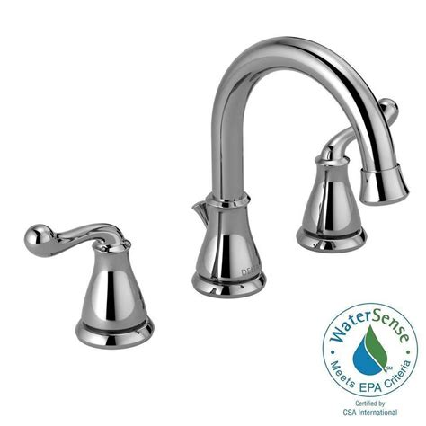widespread kitchen faucet delta southlake 8 in widespread 2 handle bathroom faucet