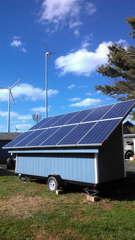 Solar Power Units For Sheds