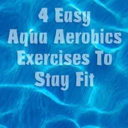Aqua Aerobics Exercises Printable