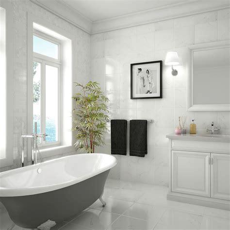 Carrara HD. Porcelain Floor & Ceramic Wall